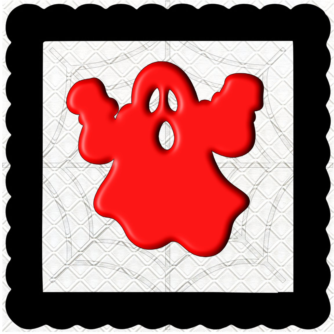 3D Color Ghost 2-Digital Kit-Jewelry Tag-Clipart-Halloween-Digital Clipart-Halloween-Scrapbook.