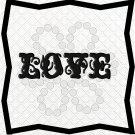 Love Words 1L-Digital ClipArt-PNG-Art Clip-Gift Tag-Text-Font-Notebook-Scrapbook
