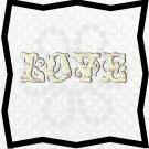 Love Words 4L-Digital ClipArt-PNG-Art Clip-Gift Tag-Notebook-Scrapbook
