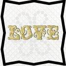 Love Words 5L-Digital ClipArt-PNG-Art Clip-Gift Tag-Notebook-Scrapbook