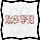 Love Words 6L-Digital ClipArt-PNG-Art Clip-Gift Tag-Notebook-Scrapbook