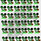 Mouse ABC 2b-St. Patrick's-Digital ClipArt-Art Clip-Gift Tag-Notebook-Scrapbook-banner