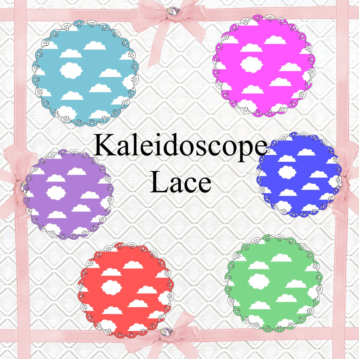 Kaleidoscope Lace 1a-Digital ClipArt-Art Clip-Gift Tag-Tshirt--Notebook-Scrapbook-Banner-Background