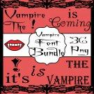 Vampire Font Bundle 2