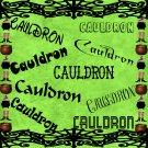 Cauldron-Digital ClipArt-Art Clip-Gift Tag-Fonts-Notebook-Halloween-Scrapbook