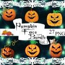 Pumpkin Face Bundle Vol.3 P1smp