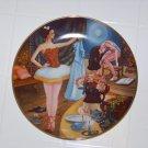 Swanilda's deception collector plate by Renee Faure ballet