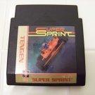 super sprint  tengen game cartridge for nes nintendo
