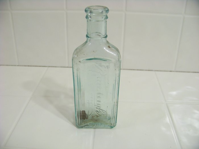 embossed rawleigh's bottle made in USA
