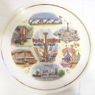 1962 Seattle world's fair plate