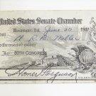 1947 Homer Ferguson signed senate pass