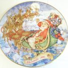 special Christmas delivery 1993 Avon plate