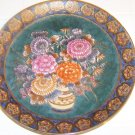 plate with flowers very nice