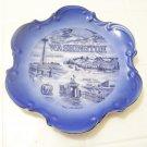 blue Washington state plate