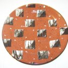 beautiful artist made ceramic plate