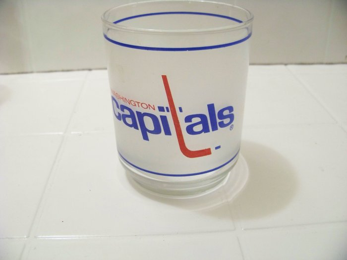 Washington Capitols glass from Mobile