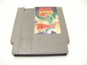 nes game dragon warrior game cartridge for nintendo