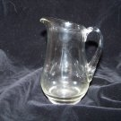 clear glass creamer