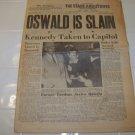 Stars and Stripes newspaper European edition Nov 26 1963 Military news Army Navy Air Force