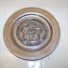 Wilton armetale pewter American Bicentennial plate Cumberland count Pennsylvania