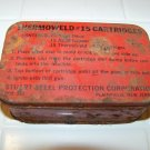 Thermoweld #15 cartridges vintage tin advertising can