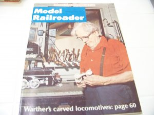 Model Railroader magazine April 1970