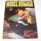 vintage 1940 model builder magazine railroad train