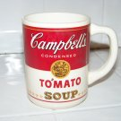 Campbell's tomato soup coffee cup mug vintage advertising