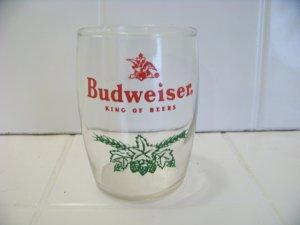 Vintage Budweiser king of beers juice glass