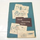 1954 food freezing facts with vintage recipes