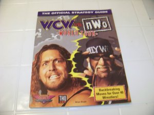 official strategy guide WCW vs NWO nintendo world tour nintendo game guide