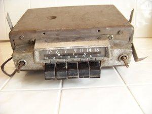 vintage Motorola under dash am car radio hot rod rat rod radio