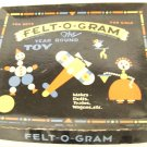vintage toy felt-o-gram the year round toy for boys and girls 1931