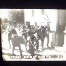 vintage slide assassin touches off World War I 1914 black and white slide