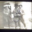 vintage slide mayor Gaynor of N.Y. shot 1910 black and white slide