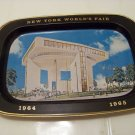 Vintage New York World's Fair tin tray 1964 1965 Heliport top of the fair Restaurant advertising