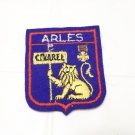 Arles French travel patch souvenir