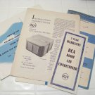 vintage RCA  air conditioning owners manual and instructions RARE