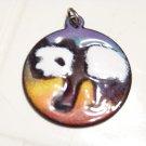Panda bear pendant necklace jewelry fashion