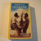vintage National Geographic Video beta betamax tape the Rhino war