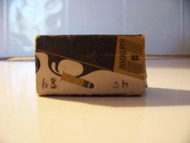 Vintage Hawthorne 22 long rifle ammo box EMPTY Montgomery Ward clean free