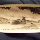 Vintage USS Lexington in Panama Canal photo Military United States Navy carrier