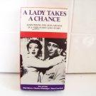 vintage movie A Lady Takes A Chance Betamax tape Beta John Wayne Jean Arthur