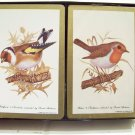 2 decks of vintage Hoyle playing cards birds Goldfinch Robin