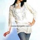 Ivory Silk Tunic