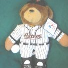 """ASTROS""""TEDDY BEAR HOLDING BASEBALL 13"""""""