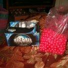 Big Ball .68 Caliber Paintballs    red- pink