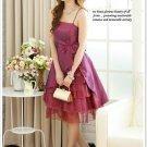 Precious Layered Dress - Violet