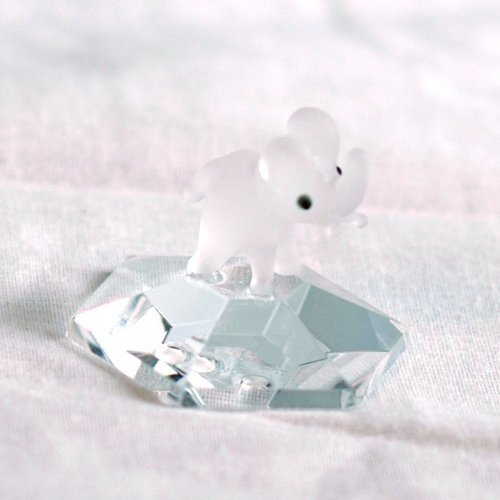 132 Crystal Elephant On Base