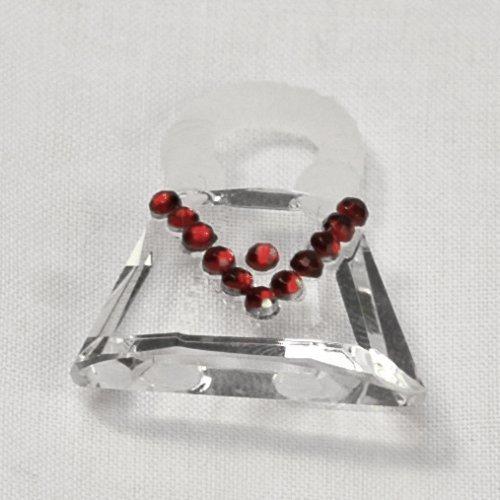 108 Crystal Bag, Red